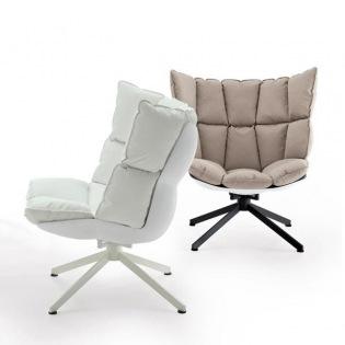HUSK Sessel, breites Rückenpolster