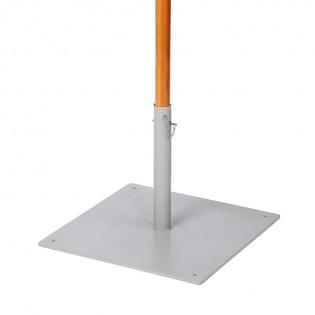 Bodenplatte 25 kg, Hülse Ø 61 mm