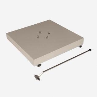 Bodenplatte für Freiarmschirme