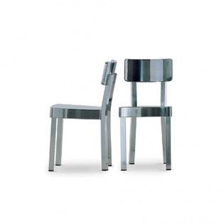 Gervasoni INOUT 23IN Indoor Stuhl, Alu poliert