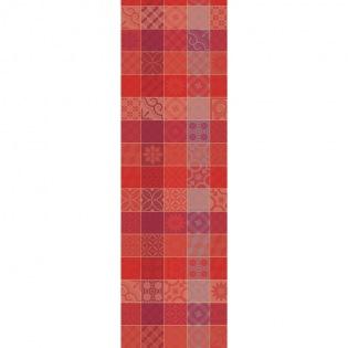 Mille Tiles Terracotta Tischläufer, 2er Set