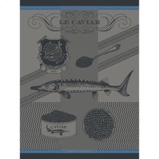 Caviar Liseré bleu Geschirrtuch