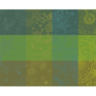 Mille Couleurs Lime beschichtetes Tischset