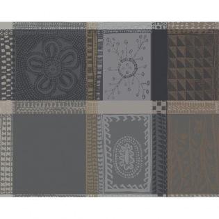Mille Wax Cendre  beschichtetes Tischset