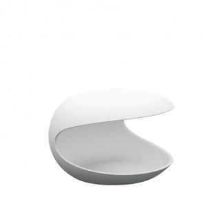 Zanotta WHITE SHELL Beistelltisch/ Nachttisch