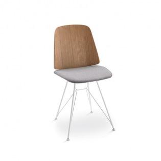 Zanotta JUNE Stuhl mit Kreuzstreben