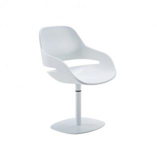 Zanotta EVA Sessel mit Mittelfuß