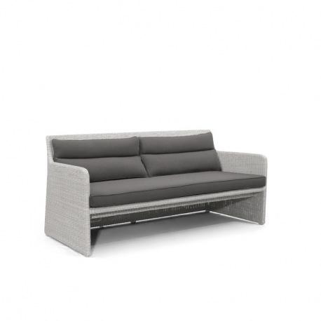 Manutti Swing Designer-Gartensofa, white & grey