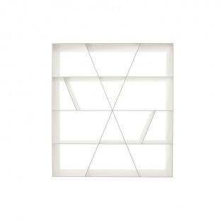 Bb Italia Shelf X Bücherregal Weiß