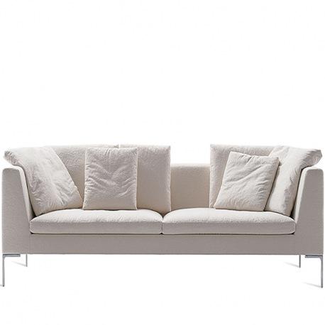 Bb Italia Charles Large 2er Sofa 270 Cm