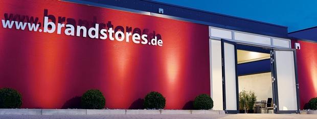 Brandstores Showroom in Bielefeld